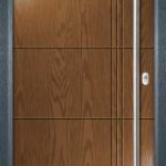 Door Colour - Golden Oak Frame - Anthracite Grey