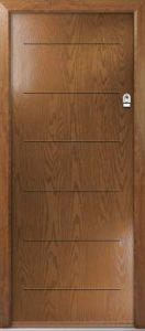 Door and Frame - Golden Oak