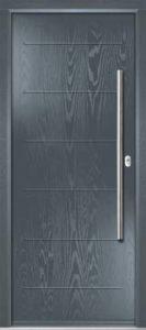 Door and Frame - Slate Grey